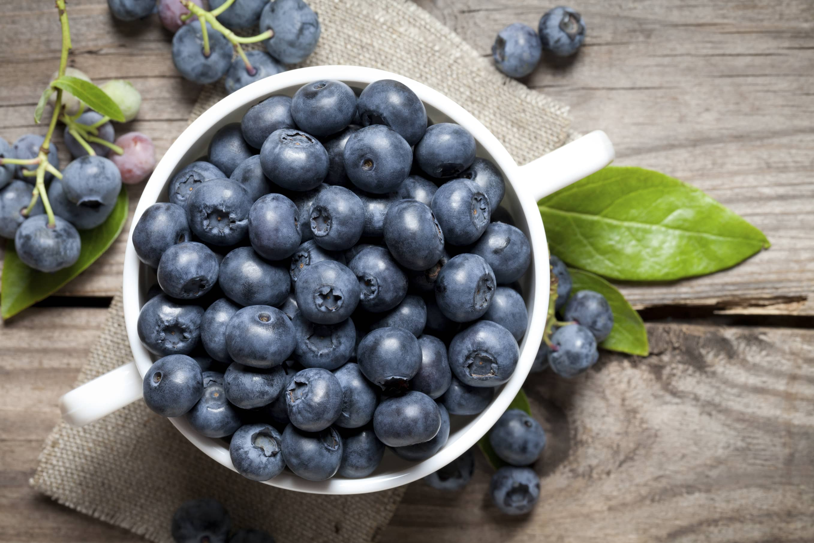 Blueberries to reduce blood pressure
