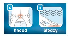 Massage Modes (Knead and Steady)