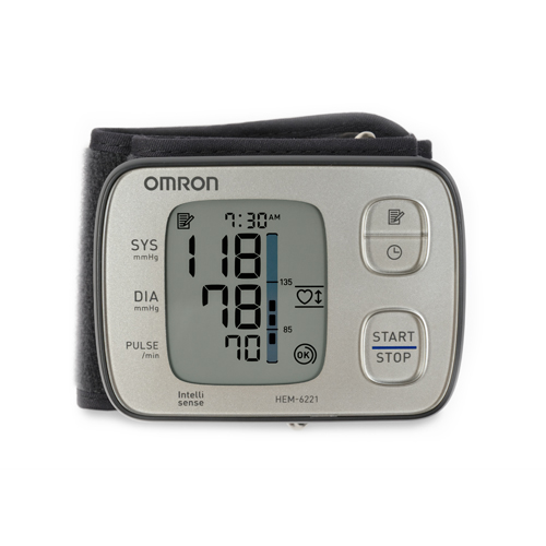 HEM-6221 | Wrist Blood Pressure Monitor